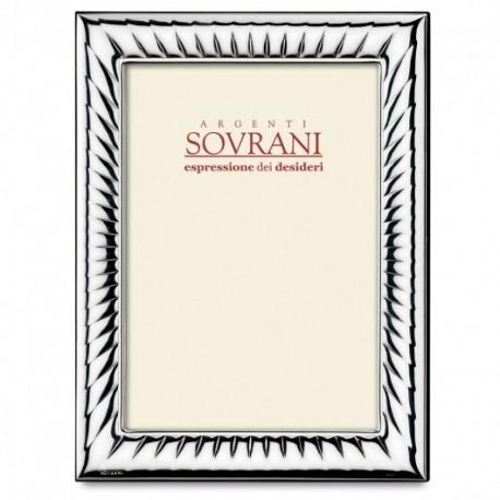 Sovrani - Cornice Bilaminato Argento - B314