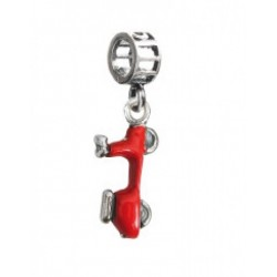 Tedora  - Charm in Argento 925 Vespa Red - IT100