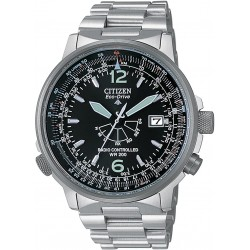 Citizen - Orologi Pilot Radiocontrollato  Nero - AS2020-53E