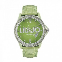 Liu Jo - Orologio Solo Tempo Donna Pelle Verde Luxury- TLJ118