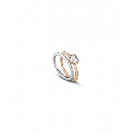 Ops Objects - Anello Donna Glitter Cuore - OPSAN-342