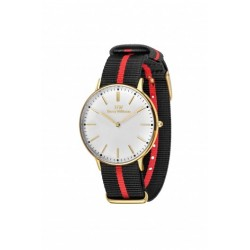 Harry Williams - Orologio Quarzo Donna  rosso-nero - HW-2014L/21